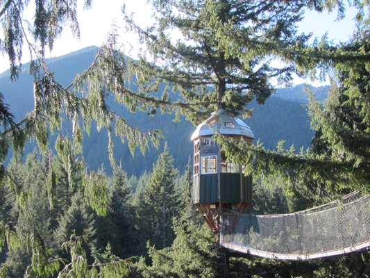 Cedar Creek Treehouse Observatory from Sunbridge