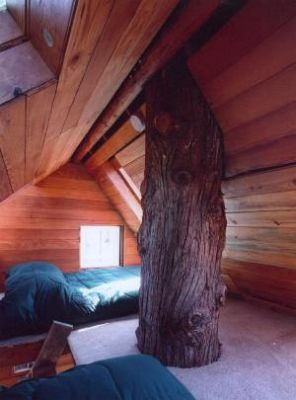 Cozy sleeping loft